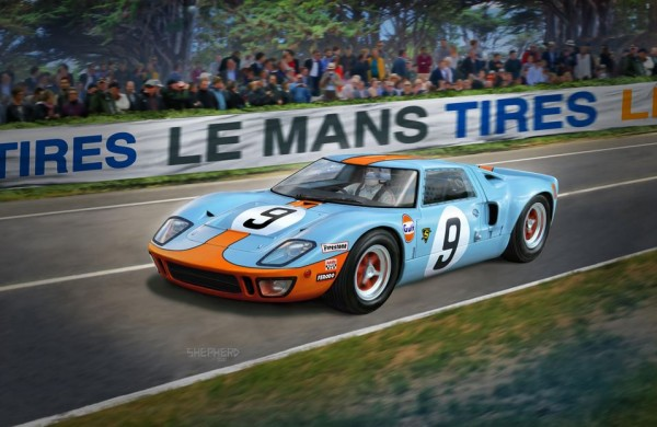 1:24-Ford GT 40 Le Mans 1968 & 1969