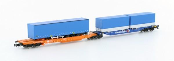 Containertragwagen, Sdggmrs744 K, DB AG