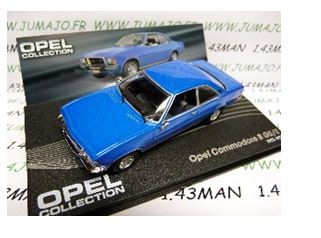 1:43-Atlas Opel Commodore B GSE - blue