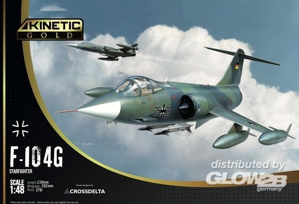 1:48-F-104G Germany Air Force and Marine