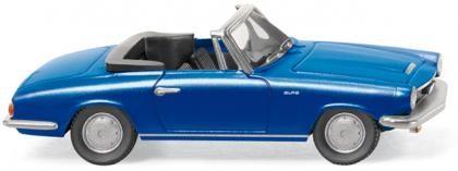 Glas GT Cabrio blau metallic