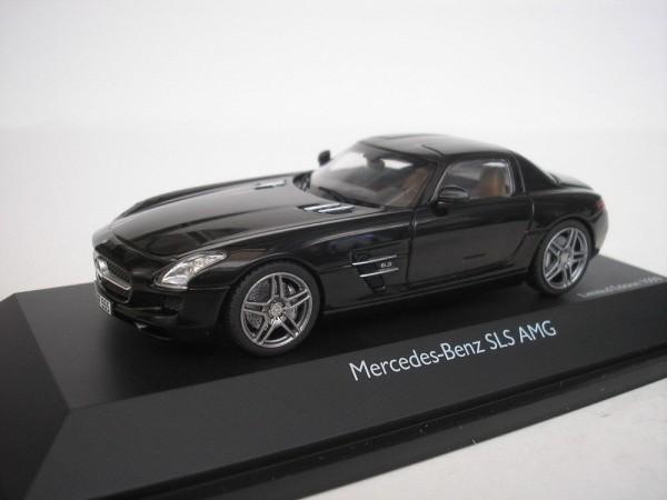 1:43-MB SLS AMG C197, schwarz