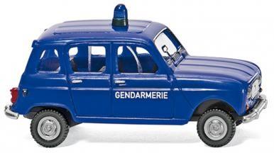 Gendarmerie - Renault R4