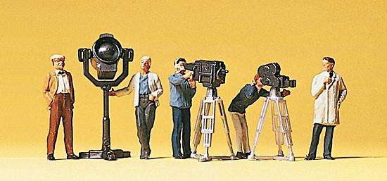 Film- und Fernsehteam