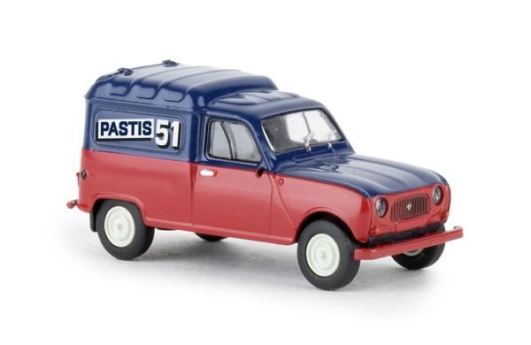 Renault R4 Fourgonnette, Partis 51, 1961