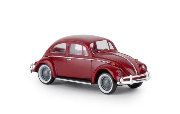 """VW Käfer, dunkelrot, """"de luxe"""