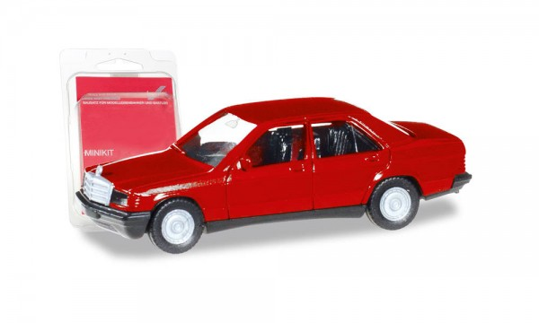 MiniKit: Mercedes-Benz 190 E, rot