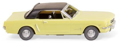 Ford Mustang Cabriolet - sunlight-yellow