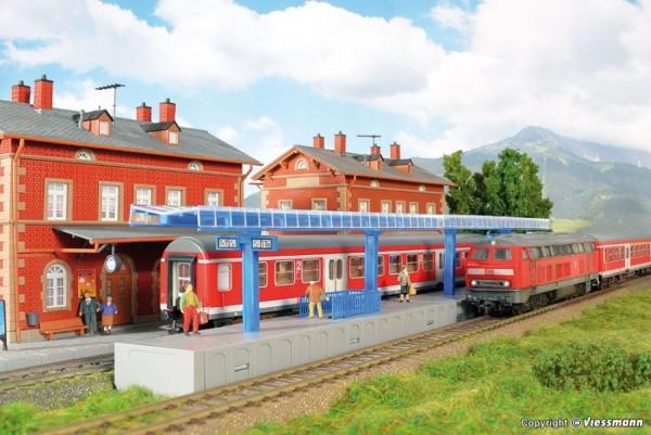 H0-Moderner Bahnsteig für C-Gleis