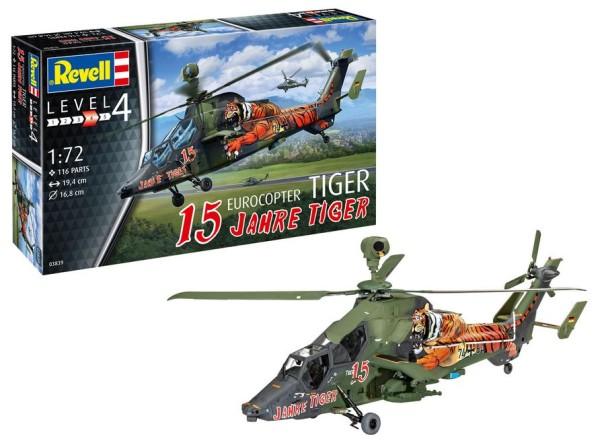 1:72-Eurocopter Tiger, 15 Jahre Tiger