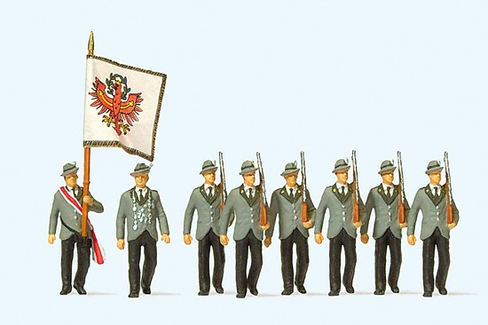 Schützen beim Festzug