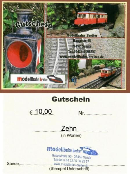 Gutscheine ab EURO 10,00