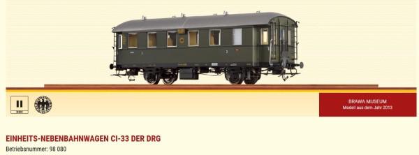 H0-Einheits-Nebenbahnwagen Ci-33 der DRG