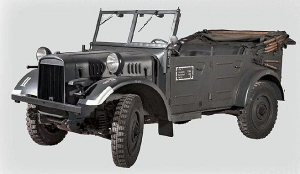 1:35-Ie.gl.PKW Kfz.1, WWII German Car