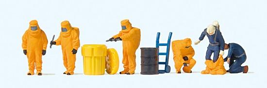 Feuerwehrmänner, Oranger Vollschutz
