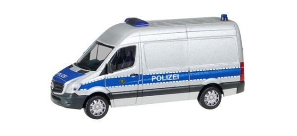 mb sprinter hochdach polizei sachsen | autos | 1:87 | maßstab