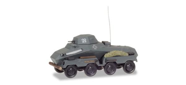 Panzerspähwagen Sd.Kfz.231, Wehrmacht