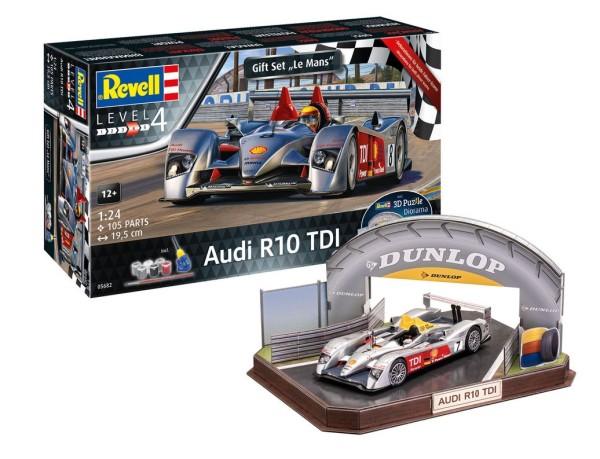 1:24-Geschenkset Audi R10 TDI LeMans