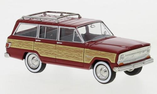 Jeep Wagoneer B, dunkelrot, Woody, 1968