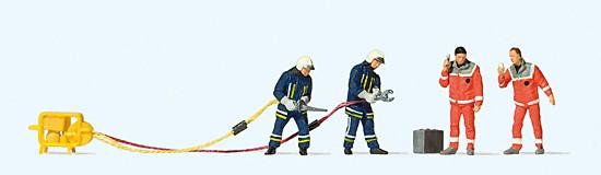 H0-Feuerwehrmänner modern