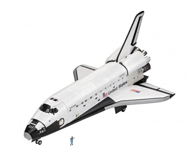 1:72-Geschenkset Space Shuttle, 40th.