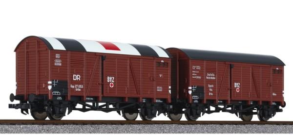 Wagen-Set BVZ, 2-teilig, DRB, Ep.II