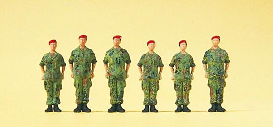 H0-Bundeswehr-Soldaten, stehend